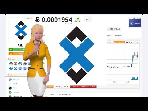 Cryptocurrency AdEx $ADX Appreciates 49% Over the Last 24 Hours