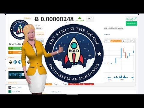 Cryptocurrency Interstellar Holdings $HOLD Gained 244% During the Last Day