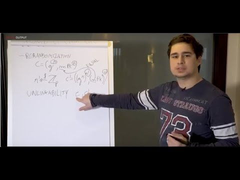 IOHK | Cardano whiteboard; Kaleidoscope, Dr Bernardo David.