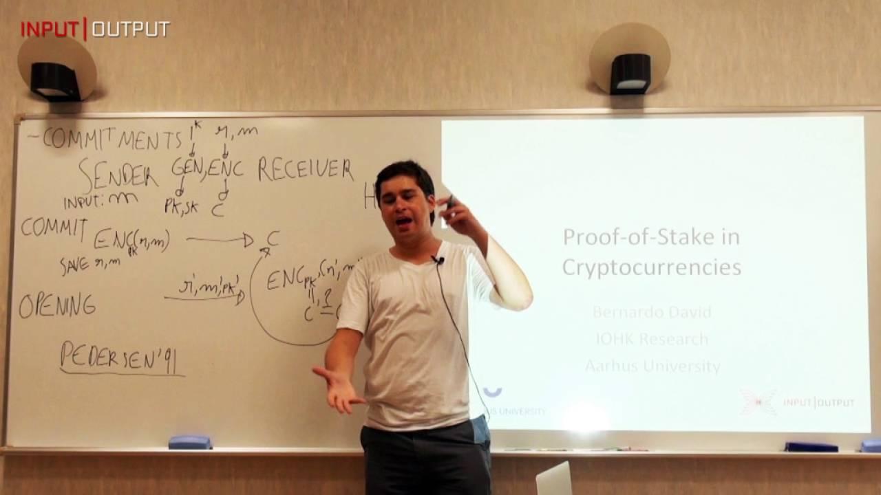 Bernardo David, IOHK Research, Proof-of-Stake Protocol