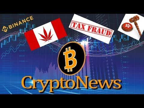 CRYPTO NEWS | Binance, Canadian Cannabis, Crypto Fraudsters…