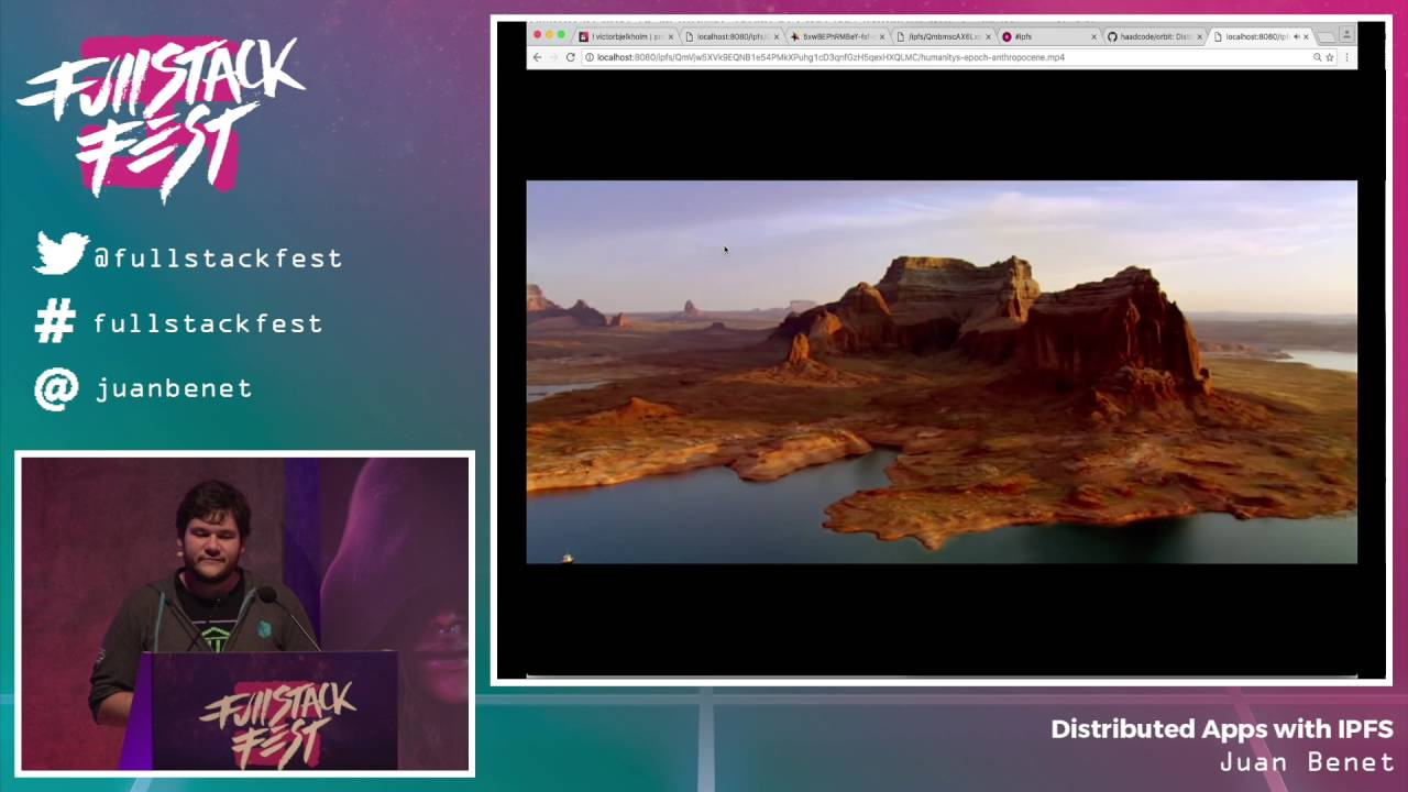 Distributed Apps with IPFS (Juan Benet) – Full Stack Fest 2016