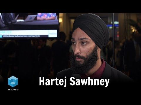Hartej Sawhney, Hosho.io & Pink Sky Capital | IBM Think 2018