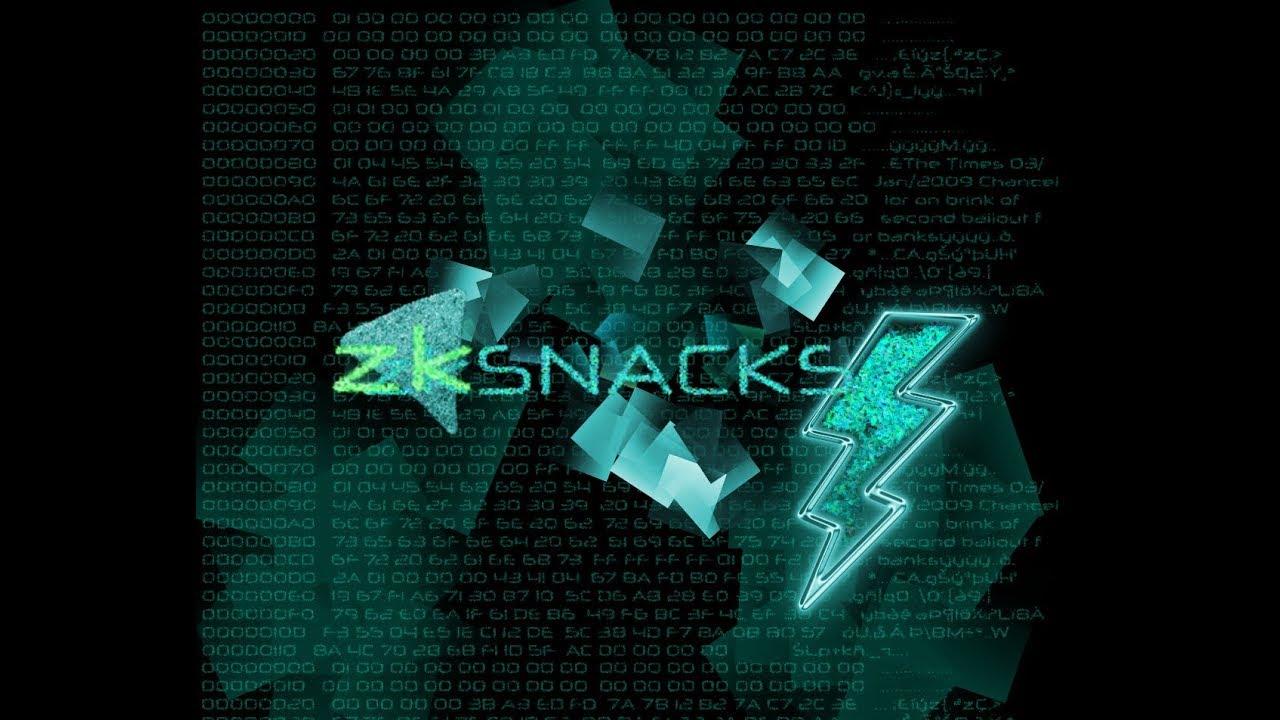 zkSNACKS #3 – Lightning Network