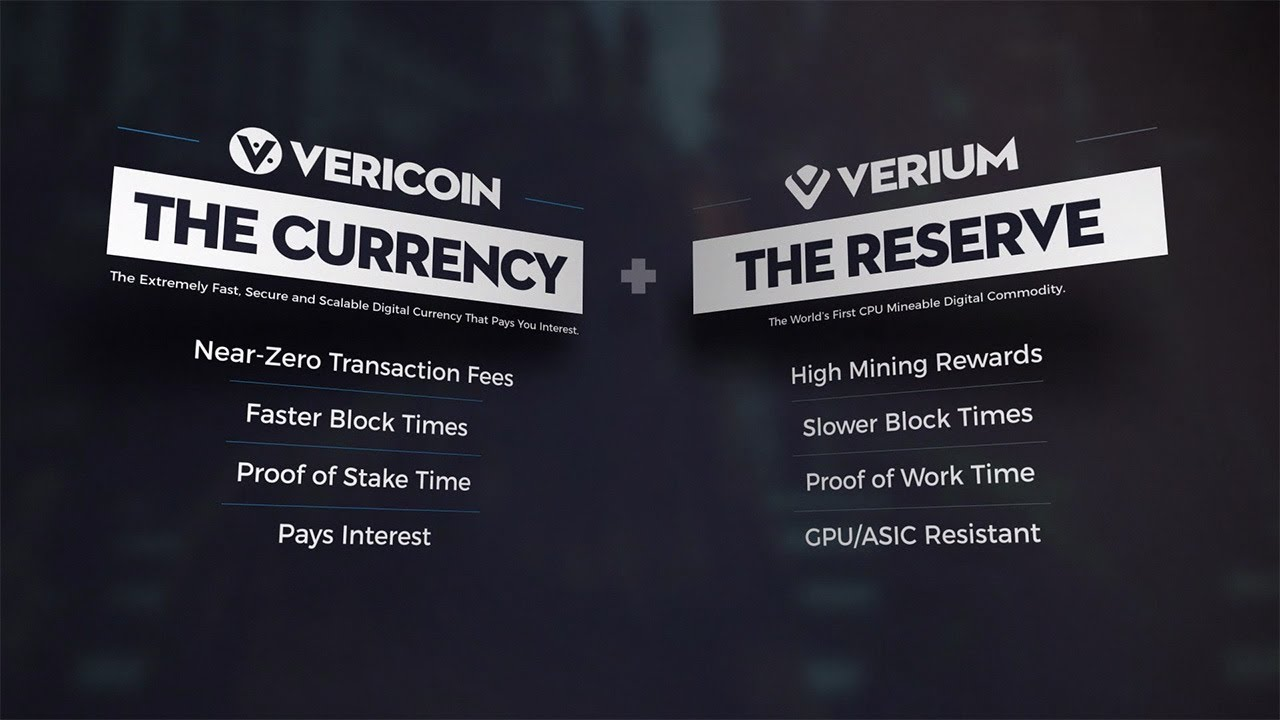 Understanding Cryptocurrency and The VeriConomy powered by VeriCoin & Verium