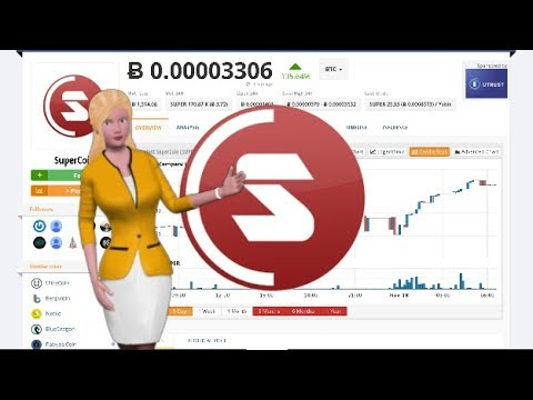 Cryptocurrency SuperCoin $SUPER Appreciates 135% Over the Last Day