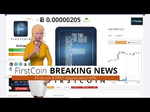 FirstCoin $FRST Gains 89% During the Past Day