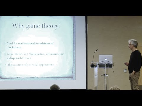 IOHK | Research; Prof. Elias Koutsoupias, Why game theory?