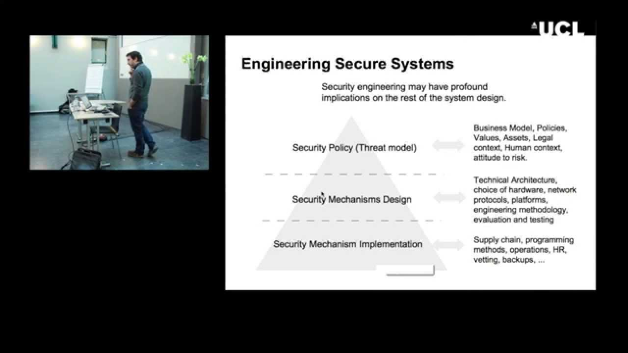 Principles of Computer Security – George Danezis