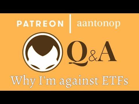 Bitcoin Q&A: Why I'm against ETFs